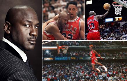 Michael Jordan- Jeden z najlepších basketbalistov všetkých čias, ktorého hra doslova brala dych